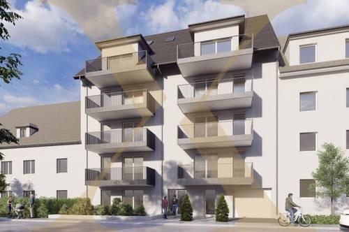NEUBAU! Erstklassige 2-Zimmer-Wohnung mit ca. 13m² großem Balkon in Linzer Zentrumslage zu verkaufen (Top 5)