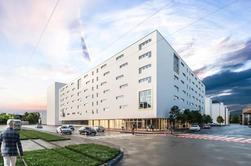 Neubau 103m² Geschäftsfläche in der hochfrquentierten Wiener Straße zu vermieten!