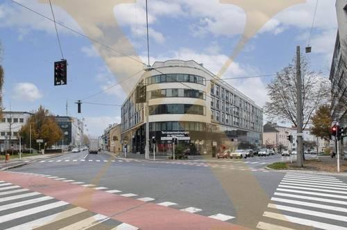 Hochwertige Büroflächen (bis ca. 822m²) im Zentrum von Urfahr (Linz) mit bester Verkehrsanbindung und hauseigener Tiefgarage zu vermieten