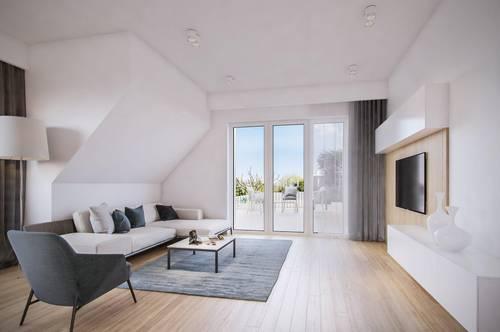 """VINEYARD LIVING - """"Chardonnay"""" - PROVISIONSFREI - Traumhafte Dachgeschoß-Wohnung mit privater Grün-Ruhe-Oase"""