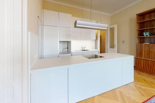 Prachtvolle Altbauwohnung, teilmöbliert im Herzen von 1070 Wien!