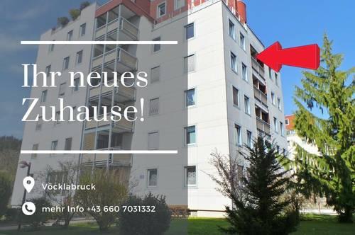 Mietwohnung mit Loggia in Vöcklabruck! inkl. 1 TG-Parkplatz und 1 Stellplatz im Freien