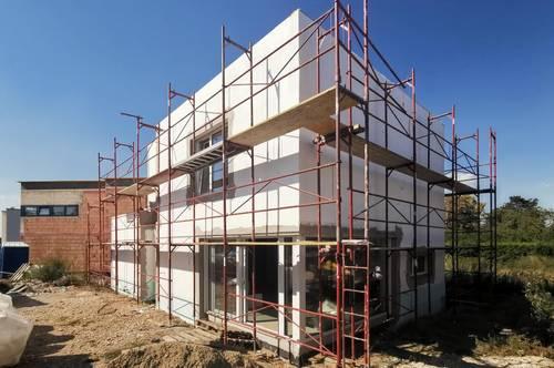 Noch 1 freies Einfamilienhaus zum Doppelhauspreis! 4 Zimmer, großer Garten, Auto-Stellplatz!