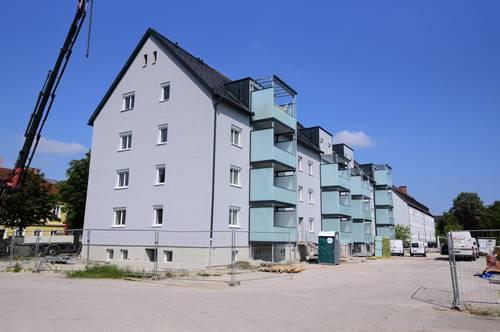 Top 621/Franz-Fritsch-Str. 6: Erstbezug-optimale 3-Zimmer-Wohnung mit großem Balkon in Welser Top-Lage