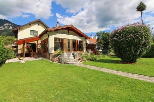 Alpenpanorama und Gartenidylle: Topgepflegtes Eigenheim bietet gehobenen Wohnkomfort in Payerbach