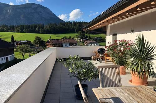 Provisionsfrei! Neuer Penthaustraum mit 2 Tiefgaragenplätze, Keller, Dachboden und gehobenen Ausstattungen in Schwoich bei Kufstein