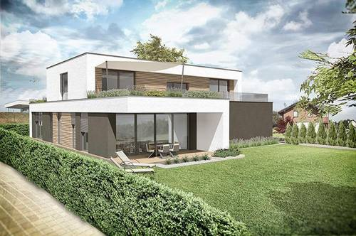 ++ luxuriöses zu Hause im neuen Luxus Viertel ++ nur 2 Wohneinheiten ++ architektonisches Meisterwerk ++ Doppelcarport ++ Erstbezug in einer Sackgasse ++ Traumlage ++