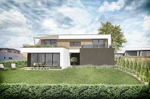 ++ luxuriöse Gartenwohnung im neuen Luxus Viertel ++ nur 2 Wohneinheiten ++ architektonisches Meisterwerk ++ Doppelcarport ++ Erstbezug in einer Sackgasse ++ Traumlage ++
