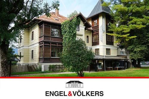 Eine Villa im Dornröschenschlaf