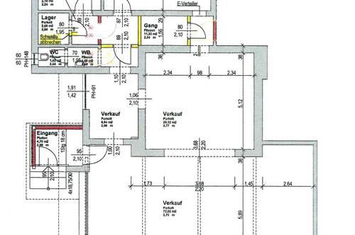 Geschäftslokal/Ordination/Büro in Top-Lage von Saalfelden - direkt neben dem Einkaufszentrum Interspar - 320 m² (inklusive Nebenräume)