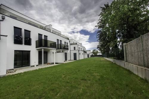 Leobersdorf: Doppelhaus mit Balkon, Abstellplatz, belagsfertig