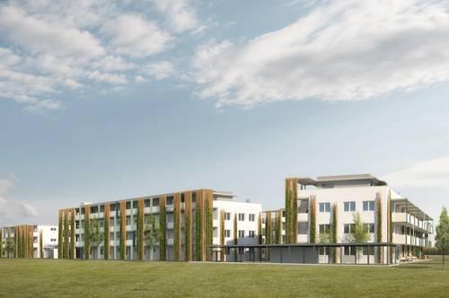 Traumhafte Neubau-2-Zimmer-Wohnung mit Eigengarten