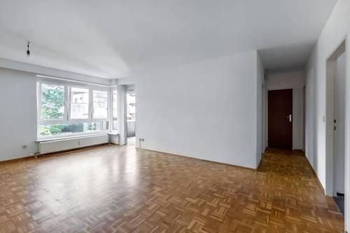 2-Zimmer-Wohnung mit Loggia - Gartenstadt - Haustiere erlaubt