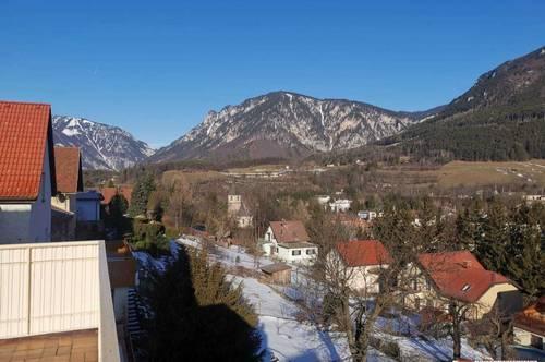 Unverbaubarer Fernblick mit schönem Wohnhaus in Payerbach