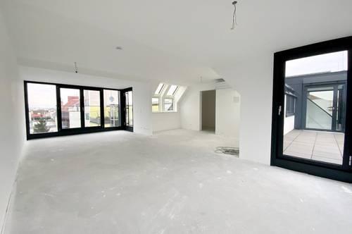 helle Dachgeschosswohnung Neubau