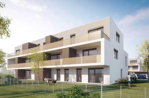 Schrattenberg Erstbezug  3 Zimmer   Miete mit Kaufrecht  2.OG   Terrasse
