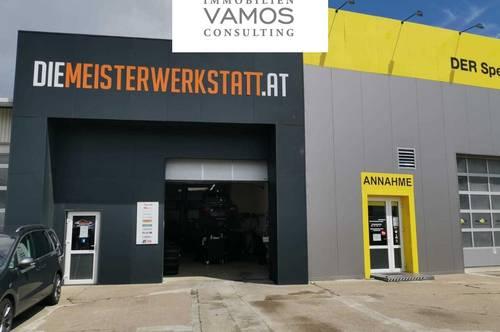 Neuwertige KFZ WERKSTATT direkt an der Brünnerstraße - UNBEFRISTET- zu vermieten!!!