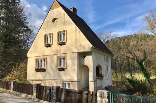 Spezielles Wohnhaus im Grünen - für Naturliebhaber