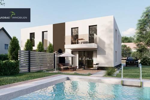 Exklusive Doppelhaushälften, provisionsfrei direkt vom Bauträger! Genießen Sie Anerkennung und Ruhe!