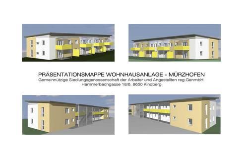 Neue Mietkaufwohnung im 1.OG mit 89,50 m²; Bezug 1. November 2021