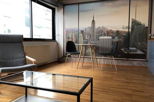 Vollmöbliertes Modernes Single-Appartement in Top-Lage: Provisionsfrei