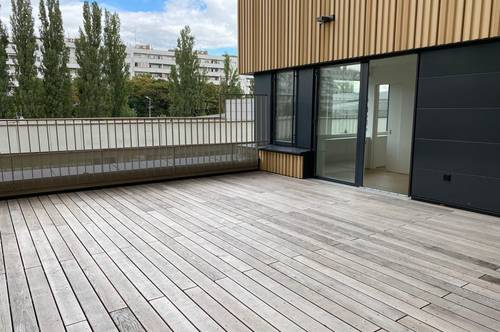 Exklusive provisionsfreie moderne Terrassenwohnung Erstbezug 2 Zimmer