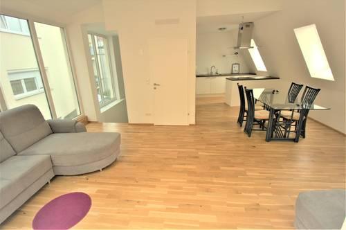 DIREKTVERMIETUNG! Jessica - Moderne Dachterrassen-Maisonette in Ruhelage