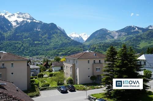 BESTLAGE – Exklusive 5-Zimmerdachgeschosswohnung - Maisonette mit einzigartigem Panoramablick in Bludenz
