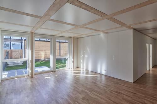 Einzigartiges Wohngefühl in 3-Zimmer-Gartenwohnung, Top Ausstattung, Neubau 2020
