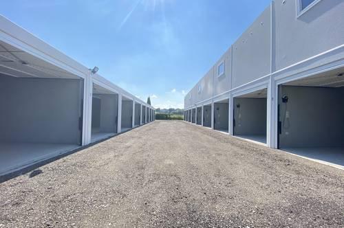 Garagen und Storage Boxen - Garagenpark Schwertberg - ab € 3,30 m²