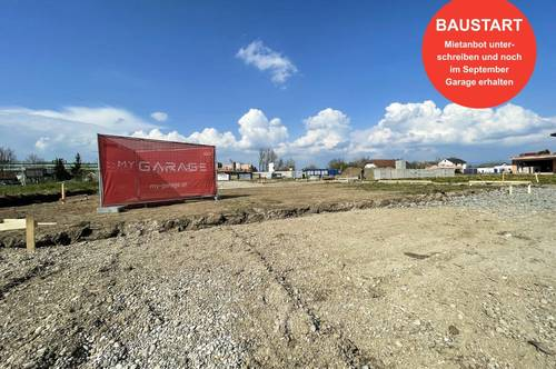 Garagenpark Eferding - Garage ab Sommer 2021 mieten   Baustart erfolgt!