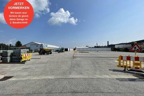 Garagenpark Hörsching | Bauabschnitt 2 | Jetzt Garage kaufen!