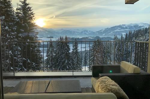 Neuwertiges Traumchalet mit Weitblick auf die Kitzbüheler Berge