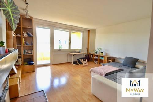 großzügige 2 Zimmer Wohnung mit Loggia und Garage