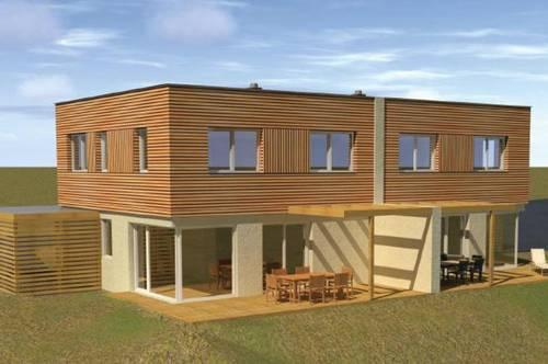 BAUPROJEKT: 6.407 m² baubewilligt für 8 Doppelhaushälften je 115 m² Wohnfläche!