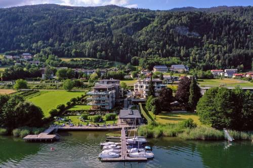Direkt am Ossiacher See - EG Wohnung mit Seeblick in erster Reihe (Buy to let)