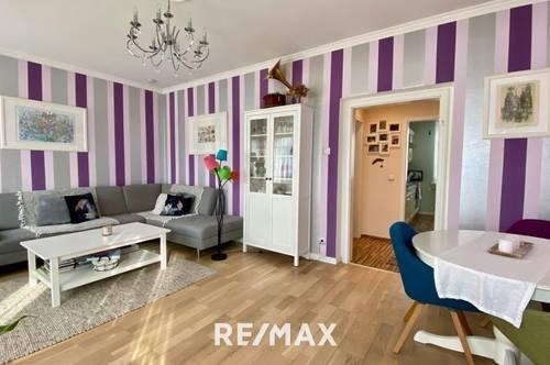 Wunderschöne 3-Zimmer-Wohnung mit großer Loggia und eigenem Garagenparkplatz in Zentrumsnähe