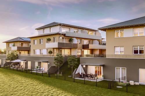 Adnet-Seidenau: 3 Zimmer Terrassen-Wohnung mit herrlicher Aussicht
