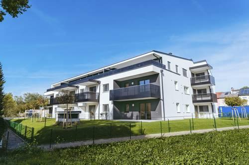 Oberndorf bei Salzburg: Sonnige 3 Zimmer mit Aussicht