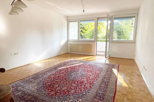 Riedenburg, ruhige, gemütliche Wohnung mit vielen Zimmern und herrlichem Balkon