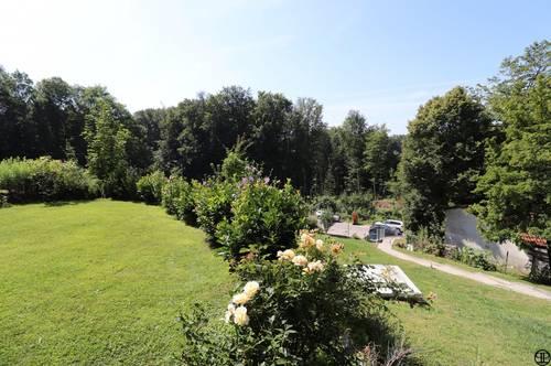P&P: Wohnung mit Garten und Grünblick / Nähe Klosterneuburg