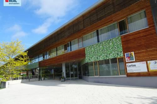 Büro-, Kanzlei-, Gastro- oder Geschäftsflächen im Komplex Wohnen der Generationen in Eggersdorf zu vermieten!