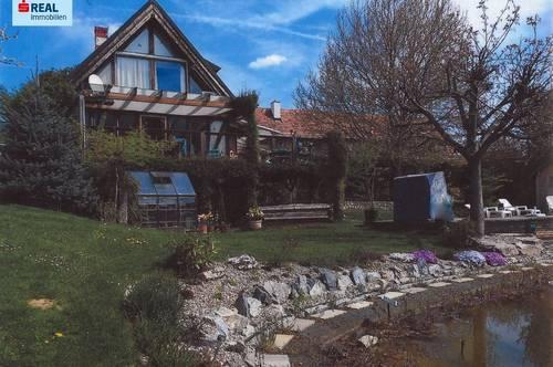 Einzigartiges Anwesen im Landhausstil mit Schwimmteich, Wohnen und Arbeiten, Gleisdorf-Nähe