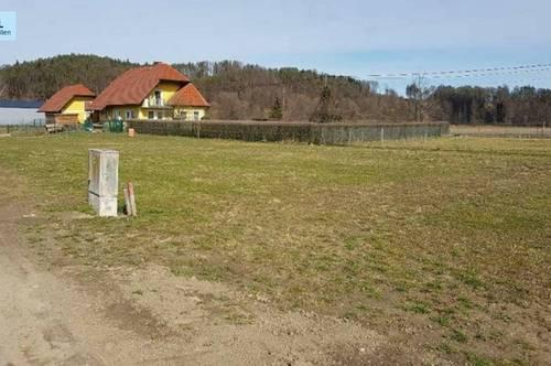 Baugrund zwischen St. Johann im Saggautal und Oberhaag