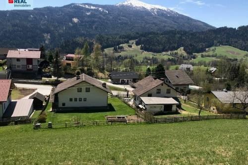 Panoramaflächen in Hanglage, Baugründe in 8854 Krakaudorf
