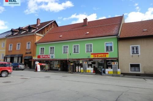 Geschäftslokal mit renovierungsbedürftigen Wohnflächen in 8832 Oberwölz