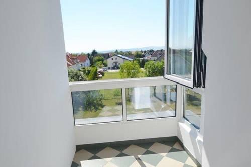 geschmackvolle Wohnung mit südostseitlicher Loggia, ruhige und sonnige Lage in Weigelsdorf