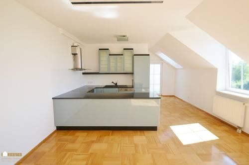 geschmackvolle 3-Zimmer Wohnung, großzügige Einbauküche und südostseitlicher Loggia und Gemeinschaftsgarten