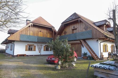 BIO -LANDHAUS mit ca. 4000qm Grund beim 2 Haus: Werkstatt, Innenhof, Büro2. Wohneinheiten möglich/Physio