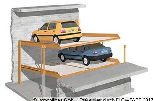 Pradl: Stapelparker zum Mieten